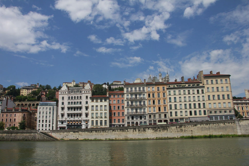 Quais de Saône - Lyon - Photo © Anik COUBLE