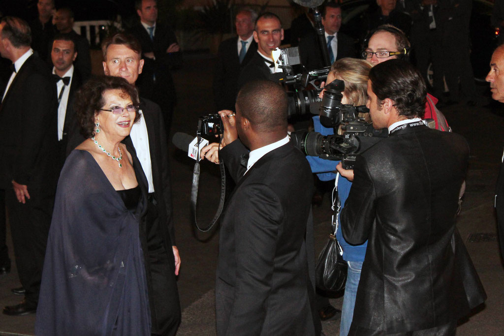 Claudia CARDINALE - Festival de Cannes 2011 - Photo © Anik COUBLE