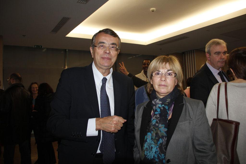 Jean-Jack QUEYRANN et Maria MONTEIRO © Anik COUBLE