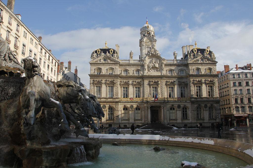 Place des Terreaux - Lyon - Février 2012 - Photo © Anik COUBLE