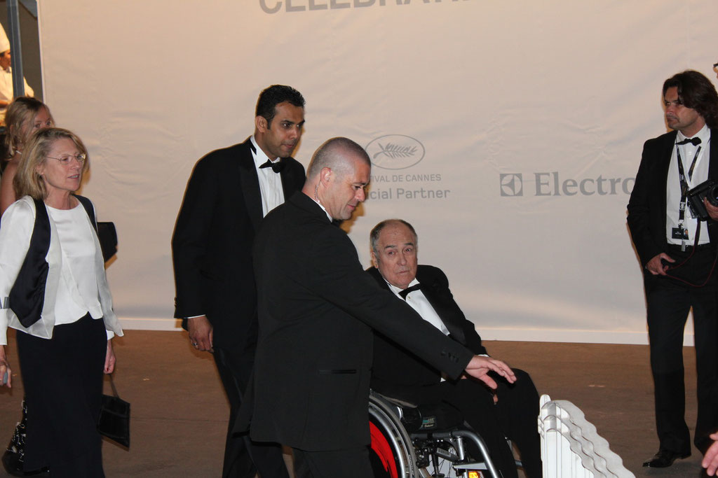 Bernardo BERTOLUCCI - Festival de Cannes 2011 - Photo © Anik COUBLE