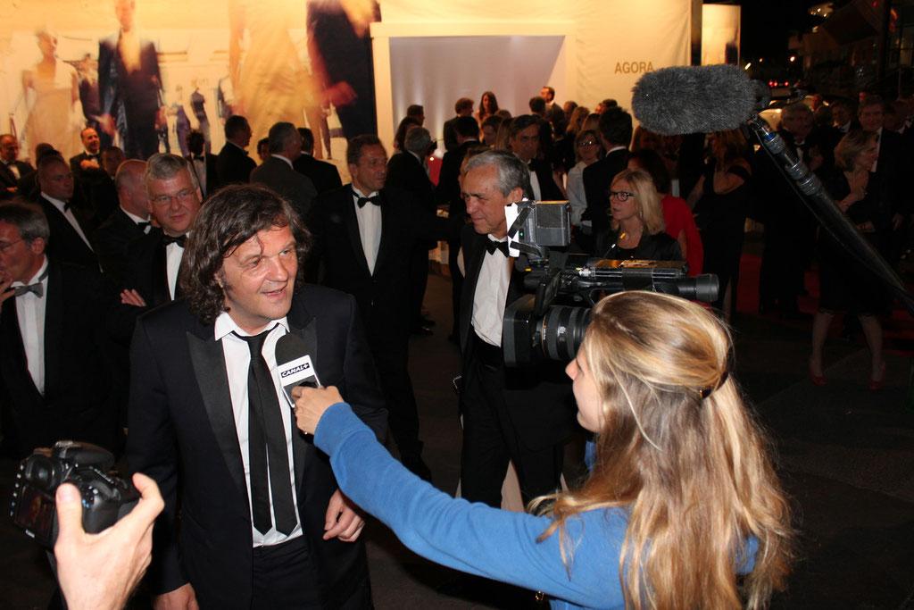 Emir Kusturica - Festival de Cannes 2011 - Photo © Anik COUBLE