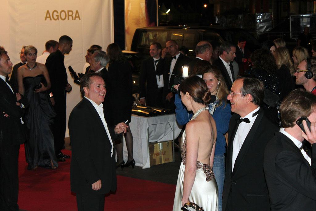 Hugo MAYER et Elsa ZYLBERTSTEIN - Festival de Cannes 2011 - Photo © Anik COUBLE