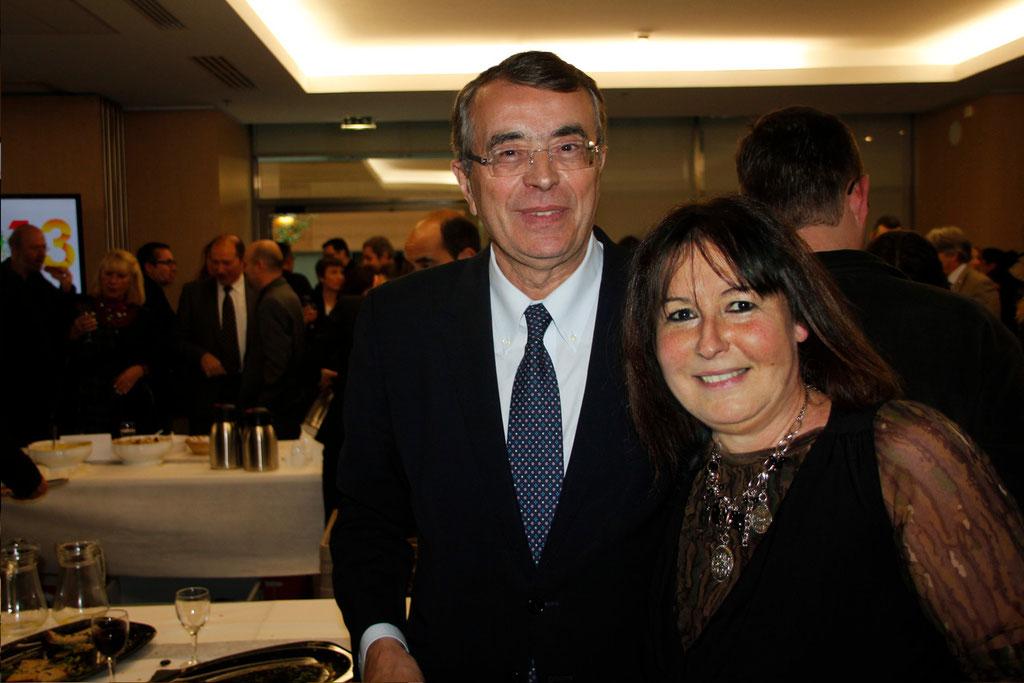 Jean-Jack QUEYRANNE et Anik COUBLE
