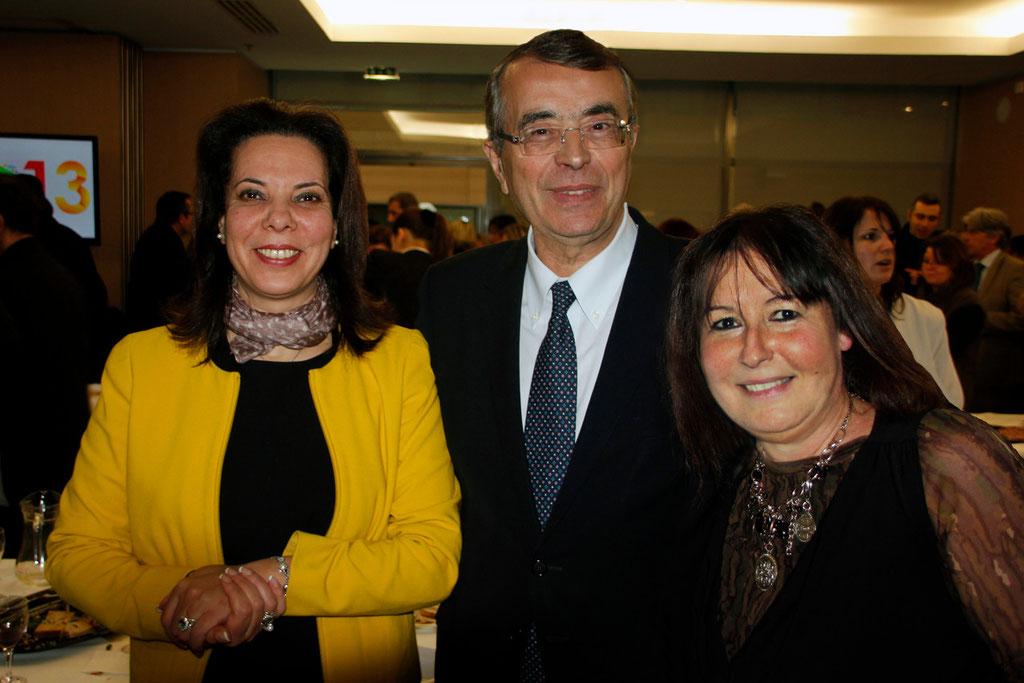 Fatiha BENHAMED, Jean-Jack QUEYRANNE et Anik COUBLE