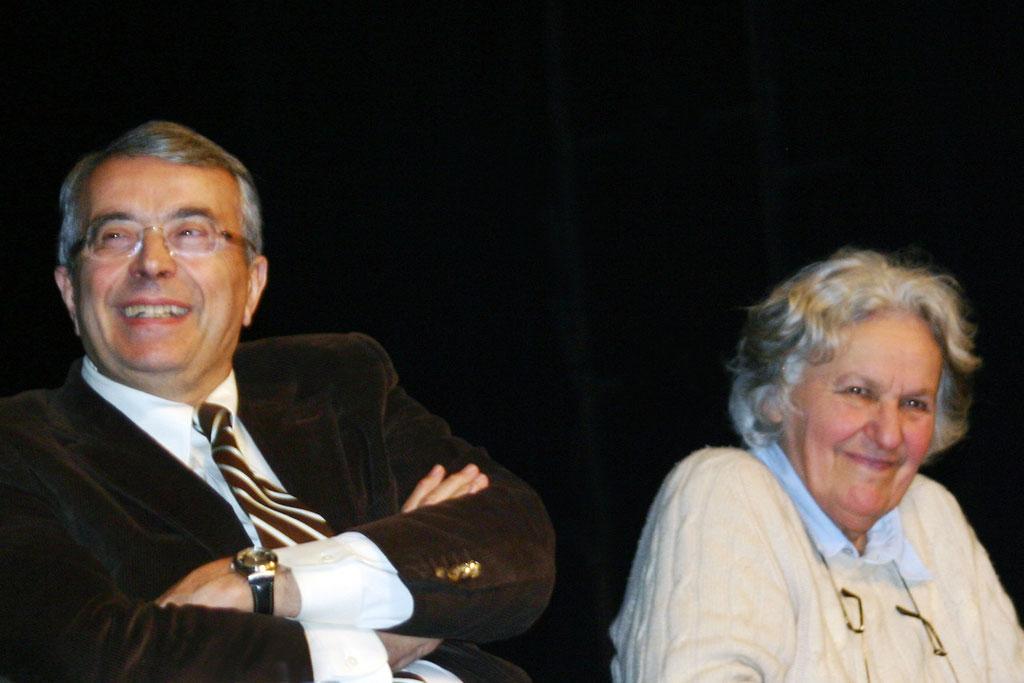 Jean-Jack QUEYRANNE et Ariane MOUCHKINE - 2011  © Anik COUBLE