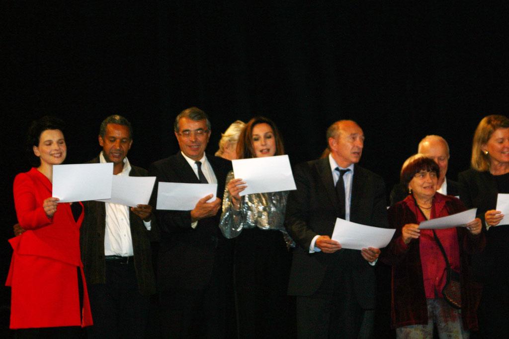 Cérémonie d'ouverture du Festival Lumière - Lyon - Oct 2010 - Photo © Anik COUBLE