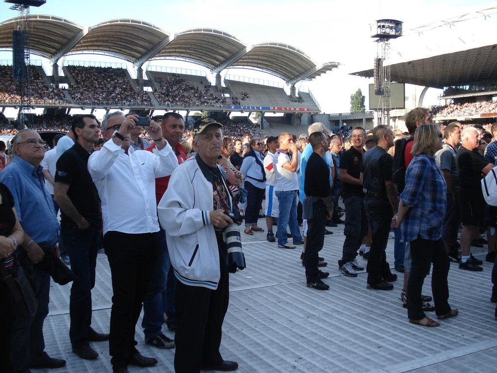 Mario Gurrieri - Concert Johnny Hallyday - Lyon - Juin 2012 © Anik COUBLE