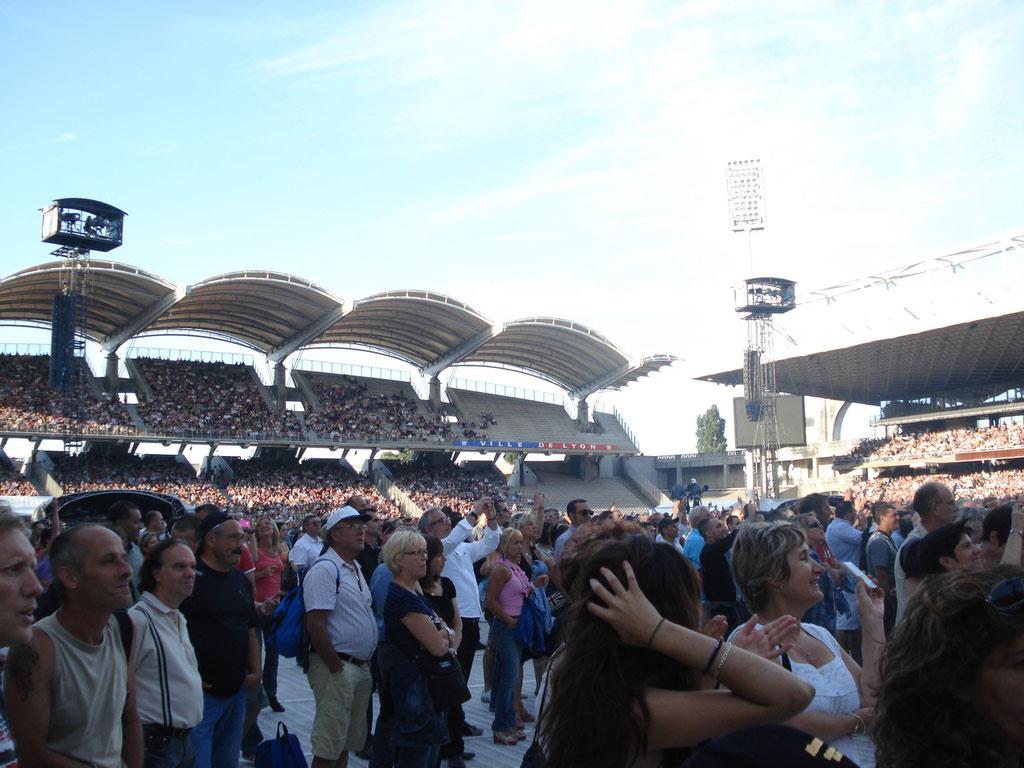 Concert Johnny Hallyday - Lyon - Juin 2012 © Anik COUBLE