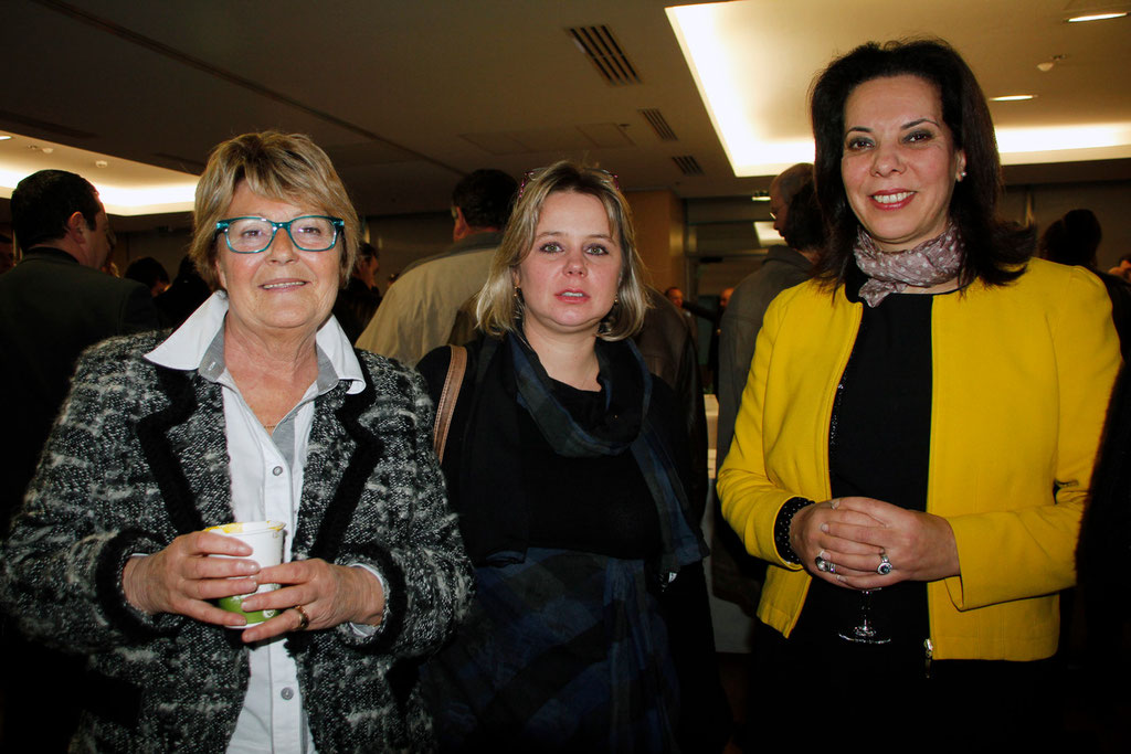 Christiane PUTHOD, Cécile CUKIERMAN  et  Fatiha BENHAMED © Anik COUBLE