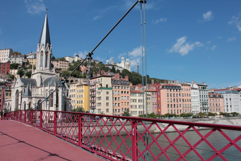 Passerelle St Georges - Lyon - Septembre 2011 © Anik COUBLE