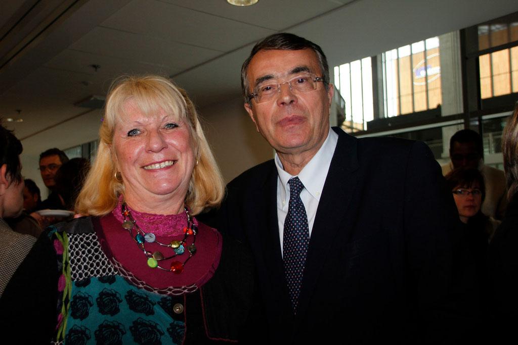 Eliane PORTENGUEN et Jean-Jack QUEYRANNE © Anik COUBLE