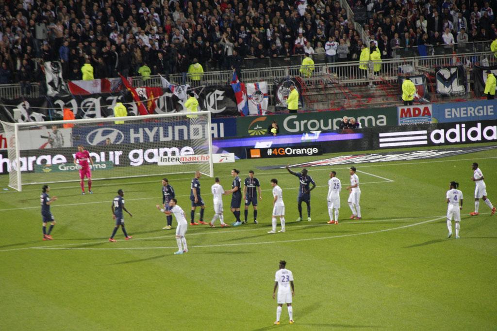 Match OL - PSG - Lyon - Gerland - Mai 2013  © Anik COUBLE