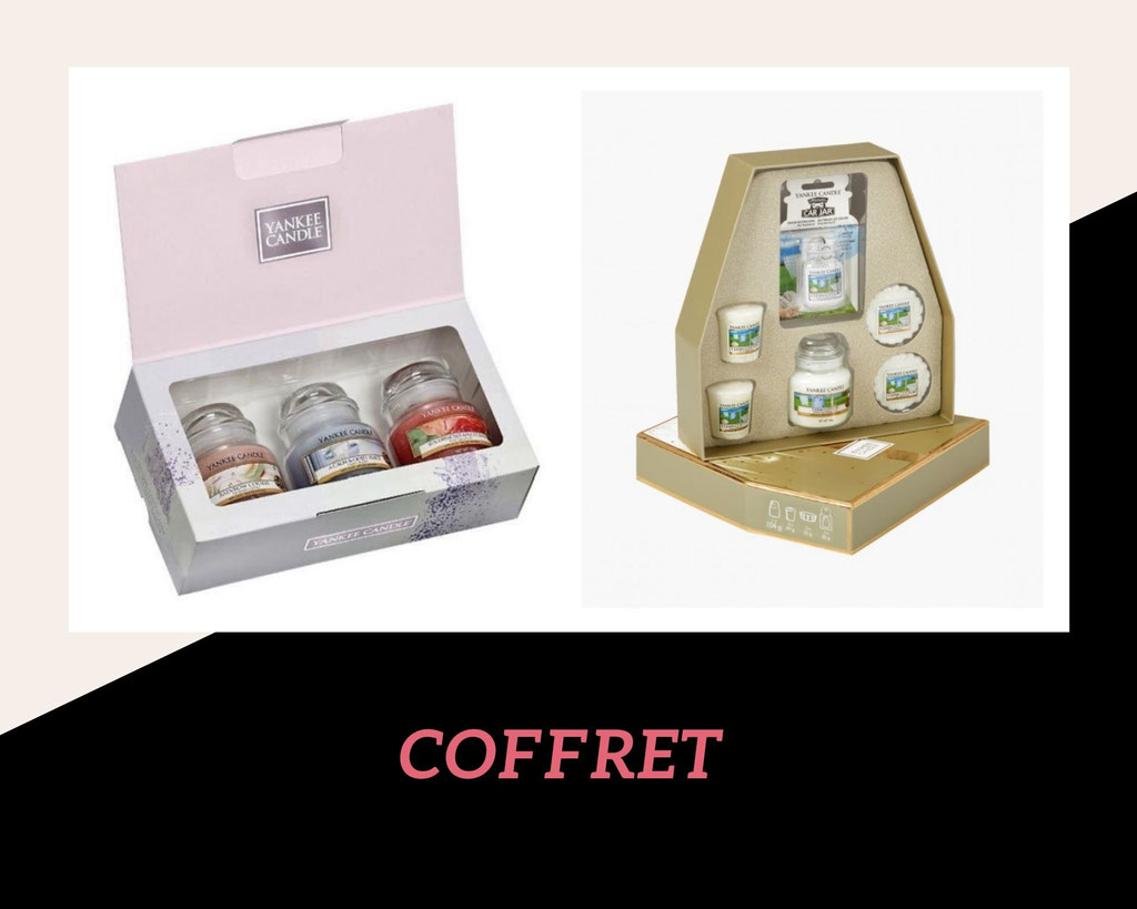 COFFRETS CADEAUX YANKEE CANDLE