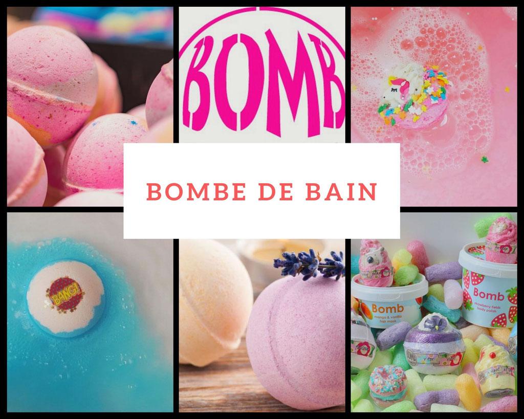 BOMBE DE BAINS ET COFFRETS DE BAIN