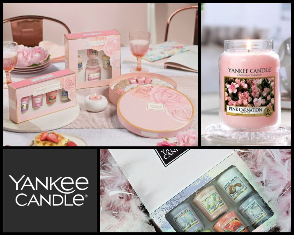 BOUGIES ET COFFRETS YANKEE CANDLE
