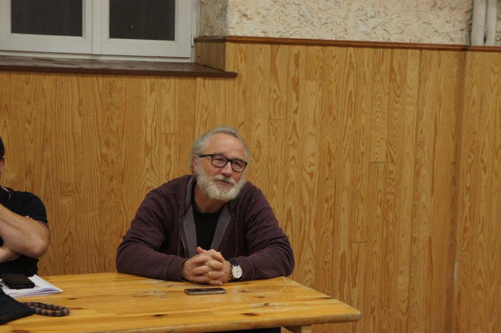 Eric Rondeaux, scénariste de l'ACPV.