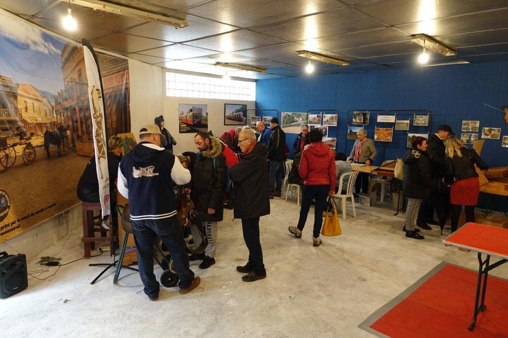 À l'abri, les professionnels du tourisme de la région de Montmirail se montraient satisfaits de la fréquentation.