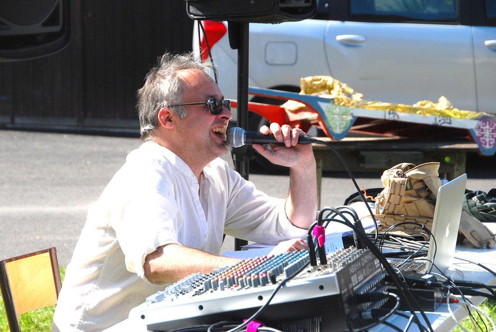 Frédéric Deguilhem, metteur en scène de l'édition 2016.
