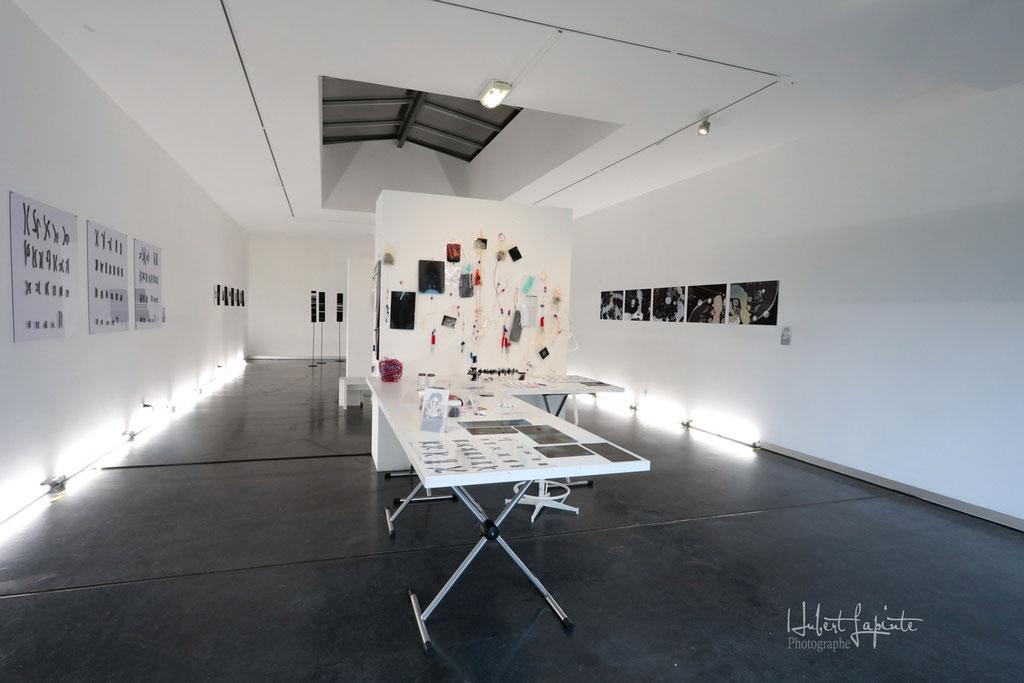 Exposition à l'Espace Culture de la Cité Scientifique de Villeneuve d'Ascq.