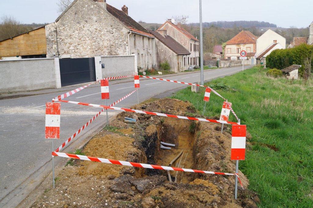 Saint-Agnan. Montée en débit : les travaux de génie civil ont démarré...