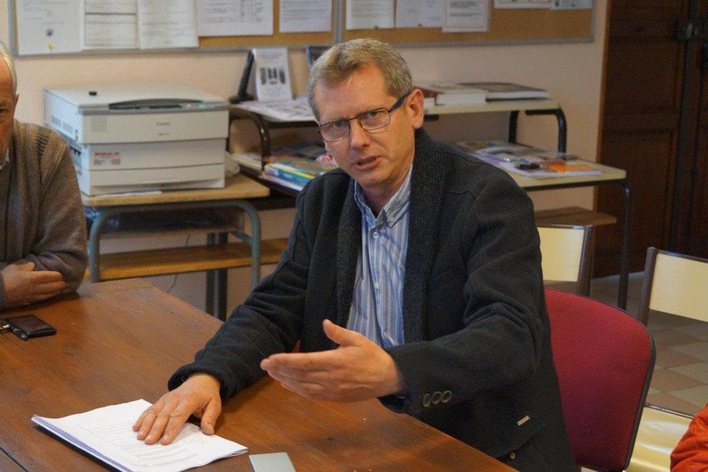 Frédéric Toutée, manager de Ressources Senior ENEDIS.