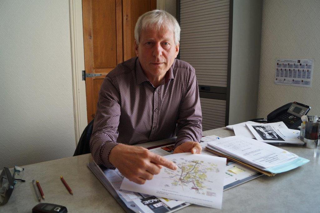Eric Assier, vice-président en charge de la Mobilité au sein de la CARCT.