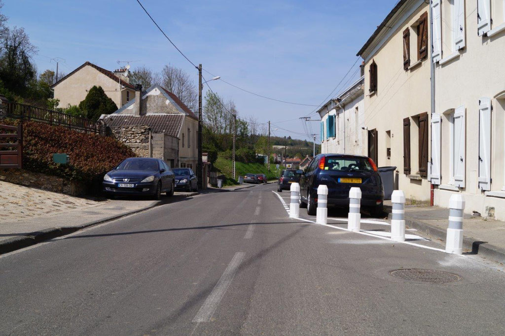 Crézancy : circulation alternée et zone limtée à 30km/h dans la rue de Condé.