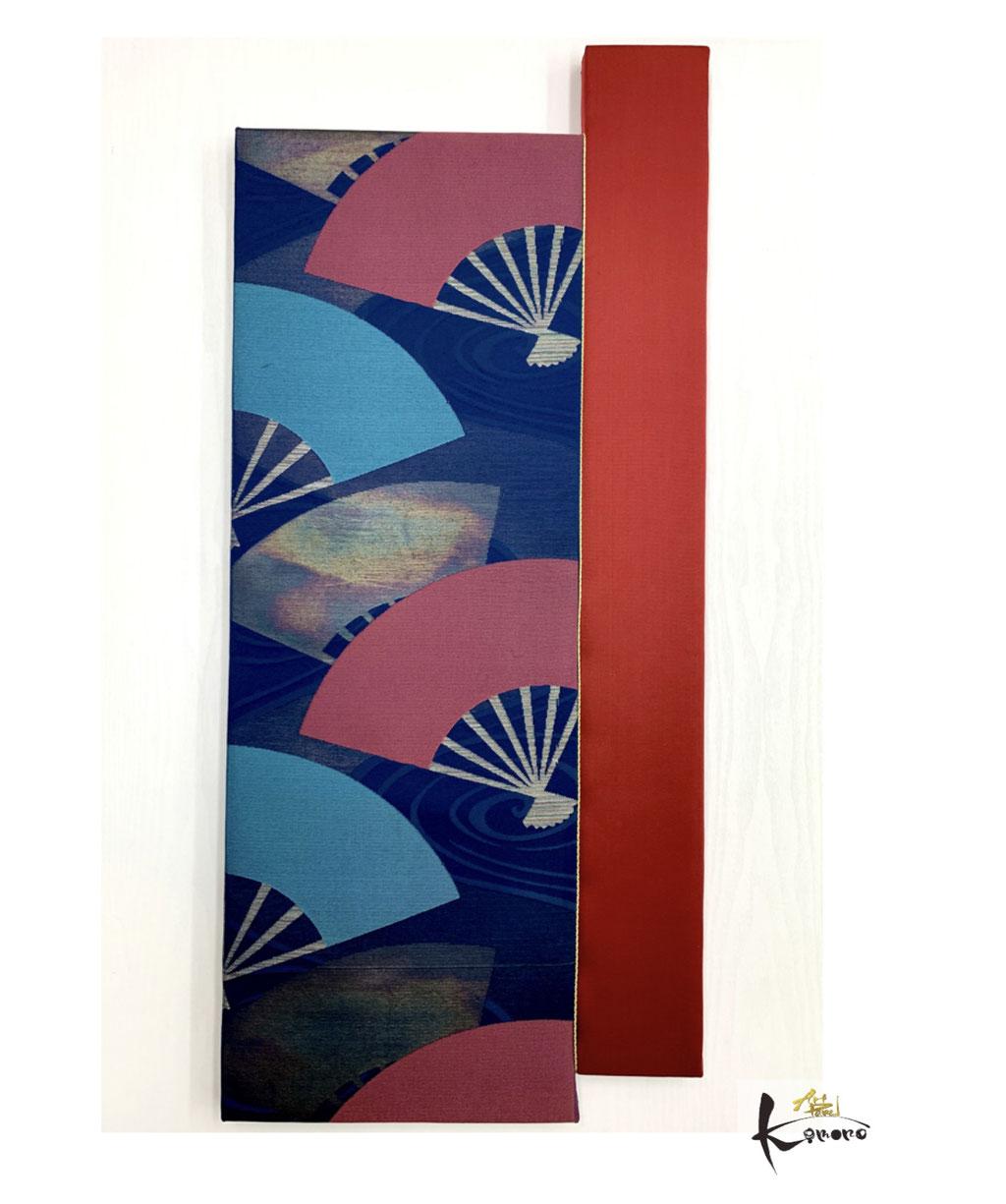 アートパネル 和風インテリア アートパネルキモノ ホテルインテリア 旅館インテリア アート 書道家 桑名龍希