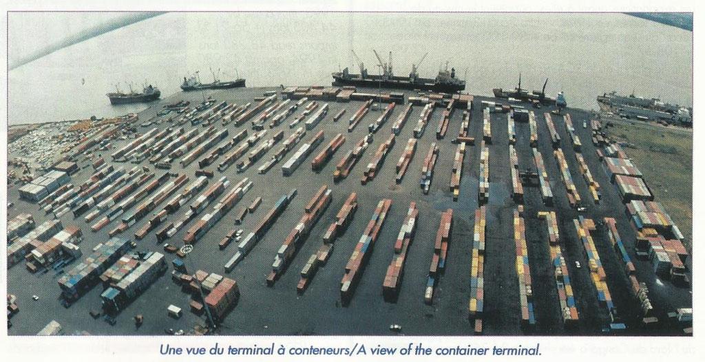 Le terminal à conteneurs avant modernisation