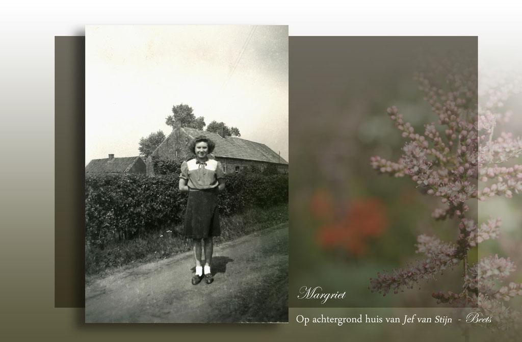 Margriet en huis Jef Beets- Leonie Mariën