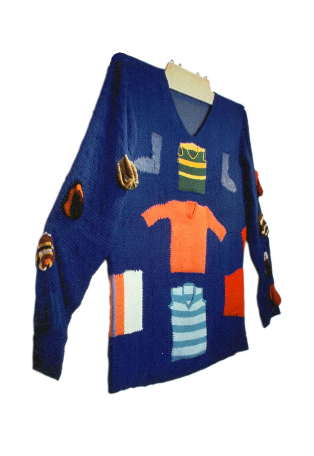 Héritage, les tricots de ma mère, devant