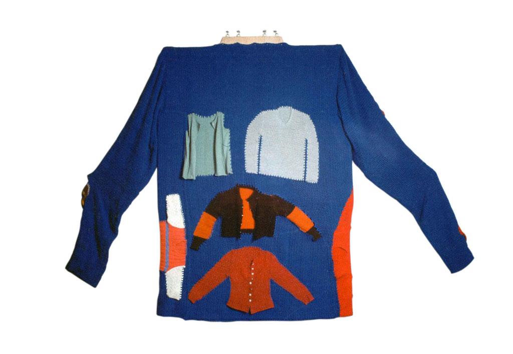 Héritage, les tricots de ma mère, dos