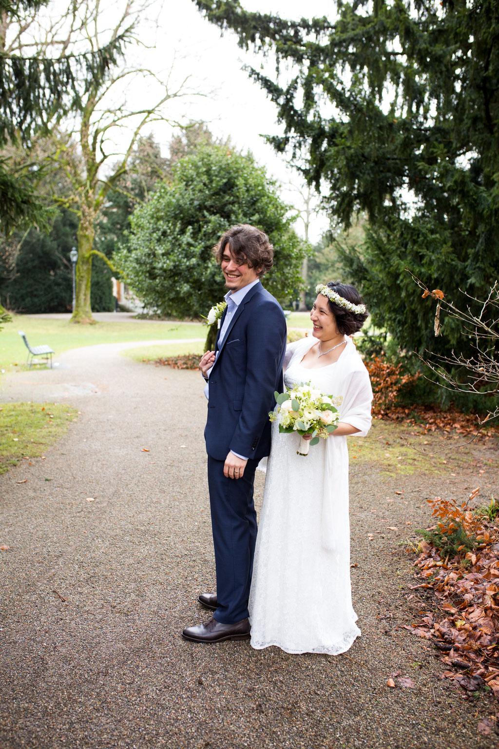 Authentische Hochzeitsfotos Winterthur