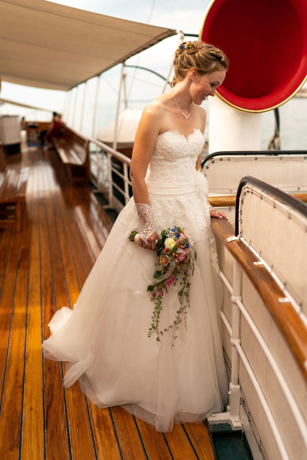 Dampfschiff Hohentwiel Hochzeit