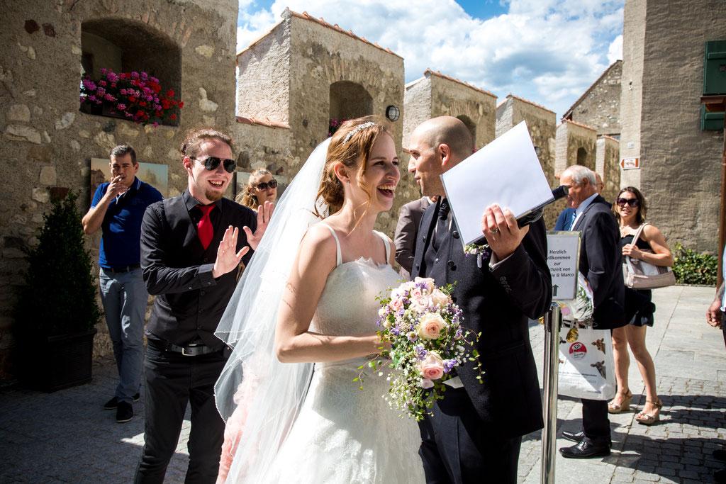 Hochzeitsfotografie Schloss Laufen am Rheinfall