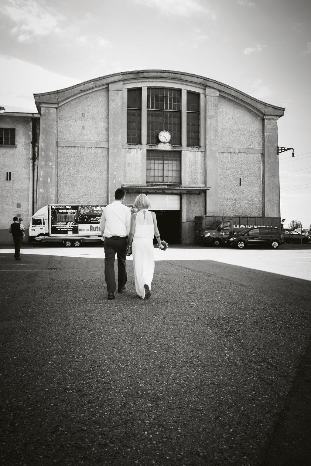 Brautpaar Hochzeit Fotografin Schaffhausen