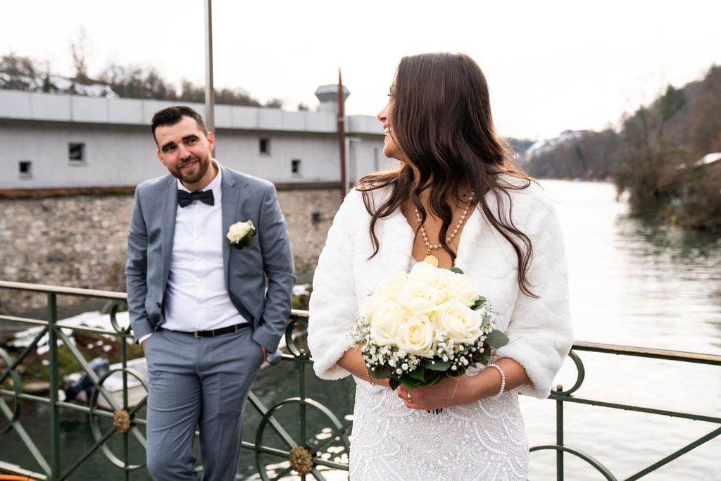 Hochzeitsfotografie Rheinfall