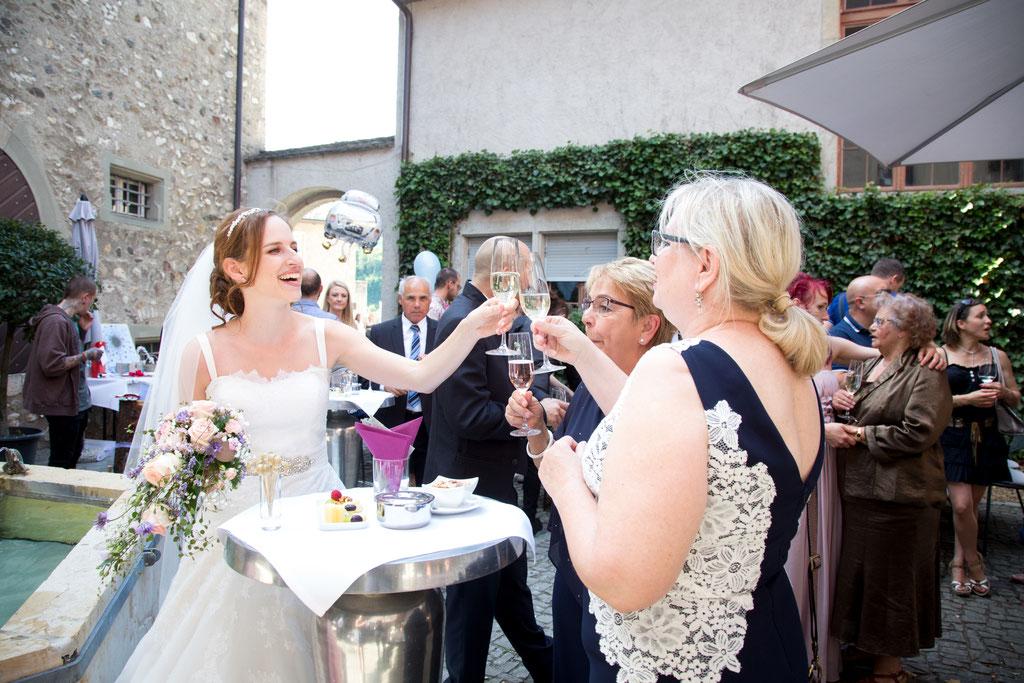 Hochzeits Fotografie Schaffhausen Rheinfall