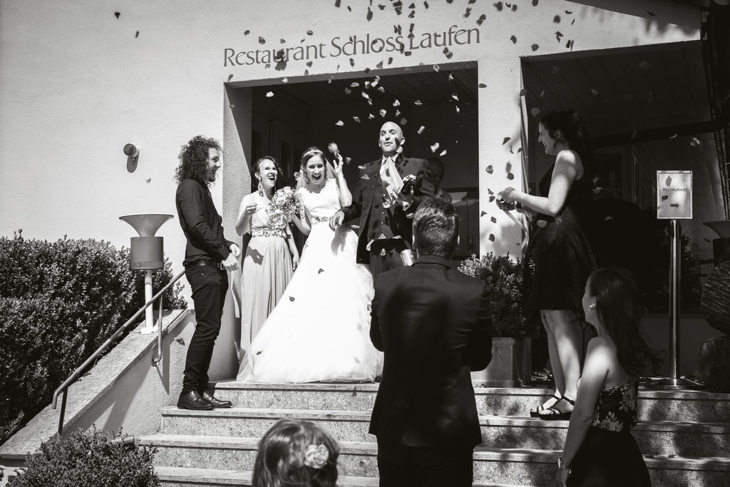 Hochzeit Schloss Laufen am Rheinfall Fotografin