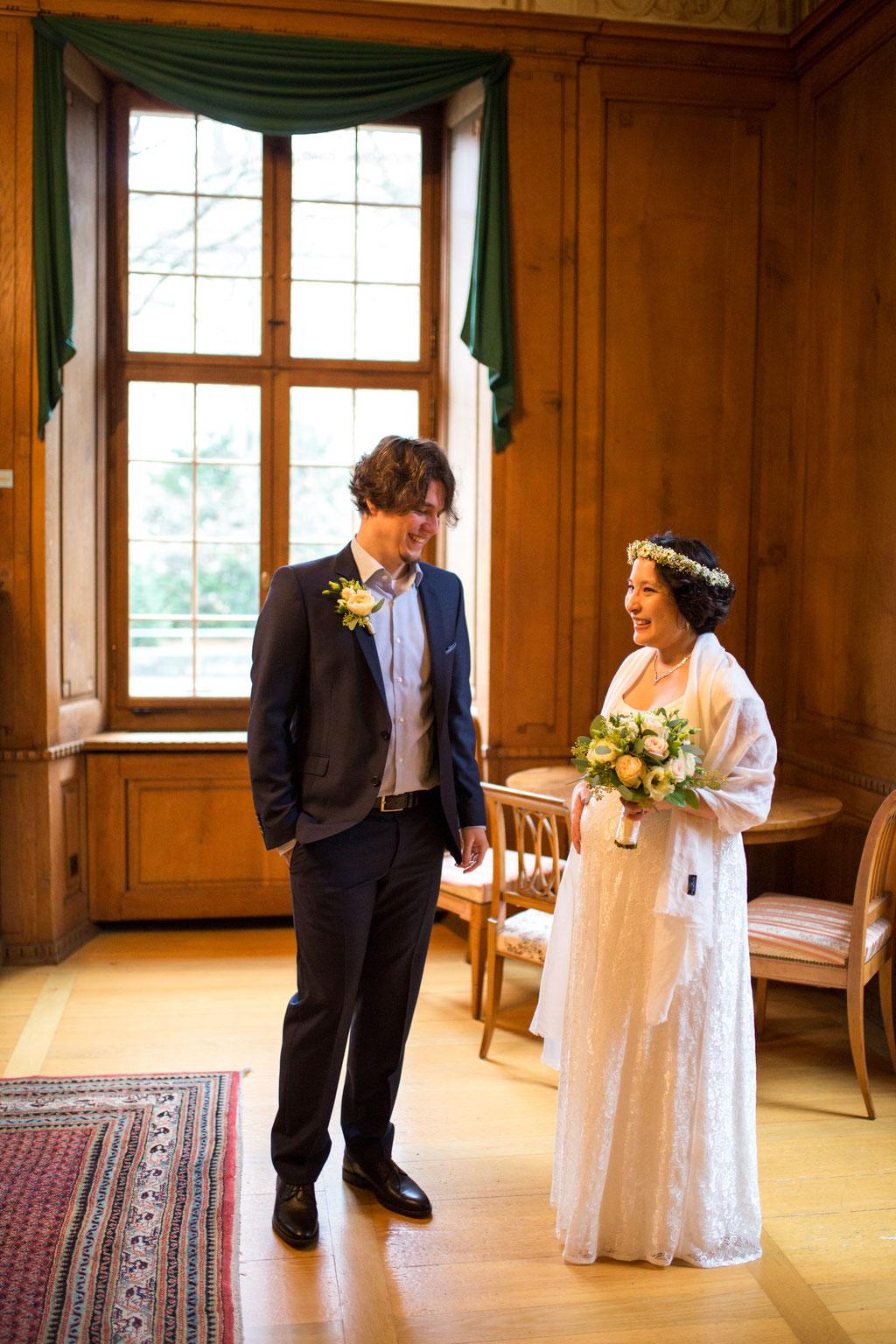 Hochzeitsfotografie natürlich Schaffhausen Winterthur
