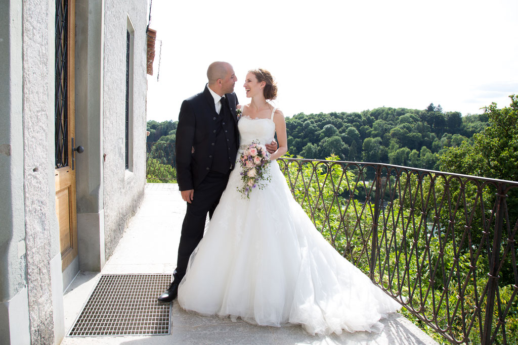 Wedding Photography Schaffhausen rheinfall
