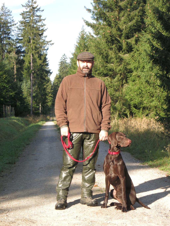 Dirk Hill mit Baldur vom Kummerberg