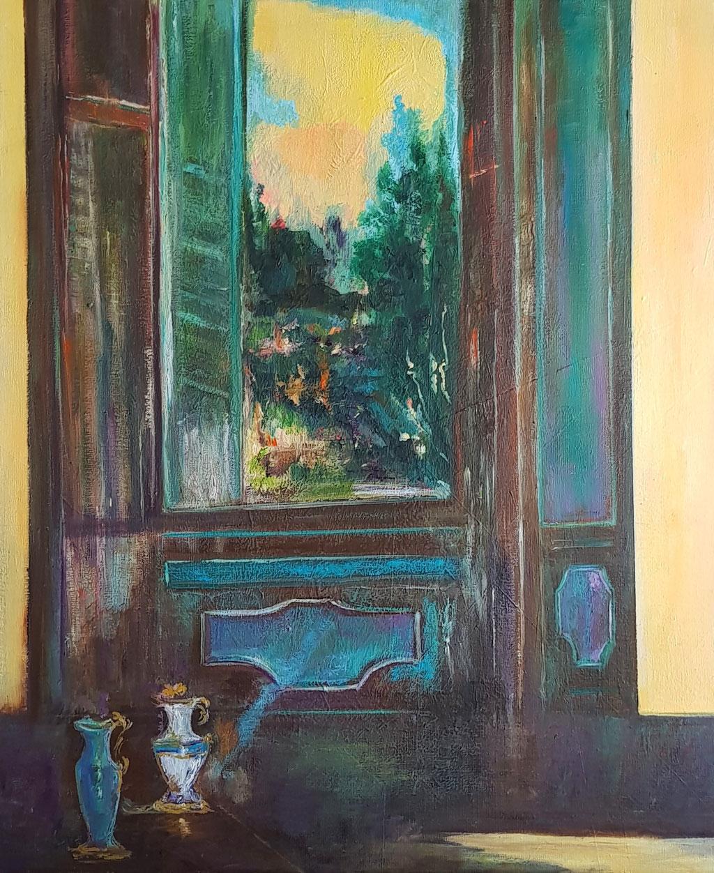 Fenêtre en Toscane