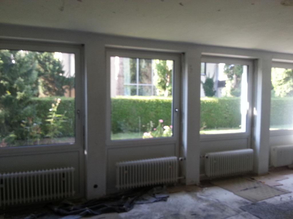 Fenster-Kunststoff innen weiß