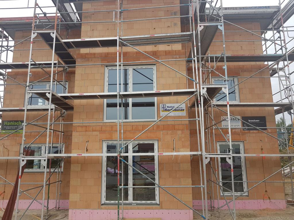 Fenster Neubau Kunststoff