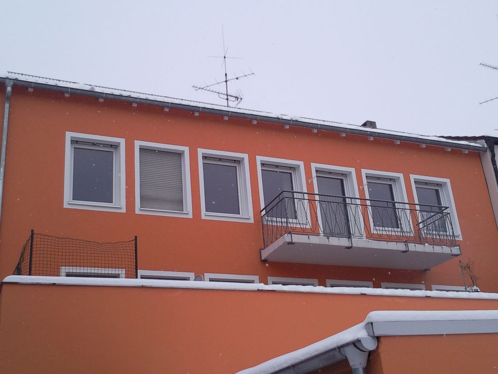 Fenster-Kunststoff weiß