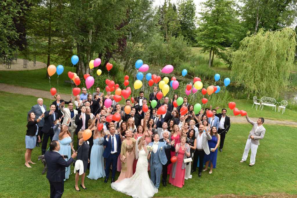Hochzeitsempfang auf Bombecks Hof