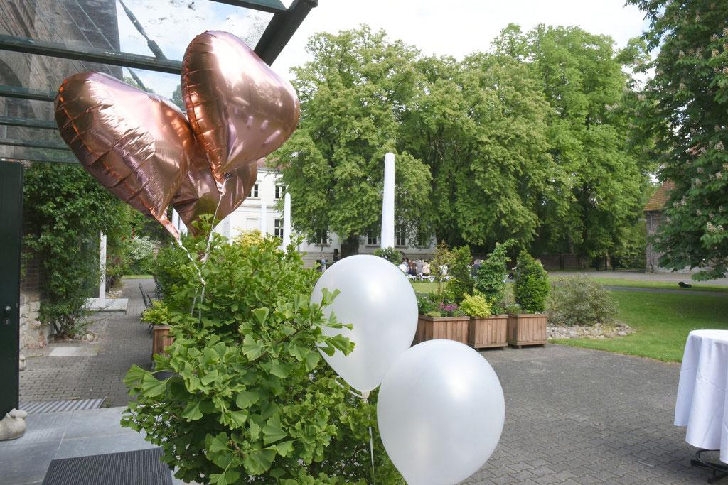 Hochzeit auf Gut Ringelsbruch in Paderborn - Restaurant Von Köppen