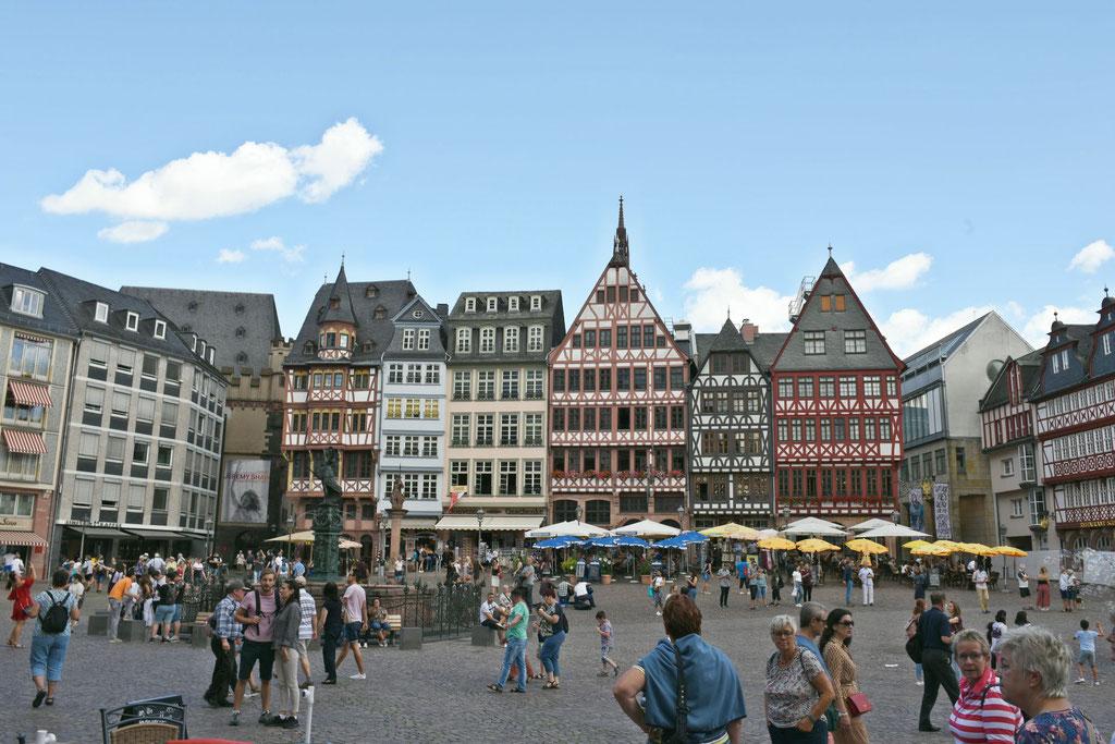 Paarshooting in Frankfurt am Römer
